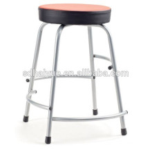 2017 Modern design round seat home chair red leather