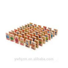 Brinquedos de madera educativos