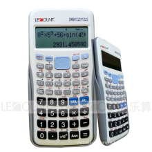 Natrual Display 249 Function Scientific Calculator with Sliding Back Cover (LC782ES-1)