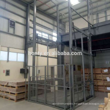 1-5T Electric Hydraulic Cargo Freight Elevator Warehouse Lift