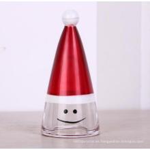 Decorativo de cristal de Navidad sombrero venta por mayor