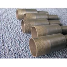 20 mm broca / sinterización diamante y bronce Taladro broca de vástago/cónico-bit / pedacito de taladro para perforar vidrio del diamante