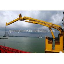 3.5t Hydraulic Knuckle Boom Guindaste Marítimo