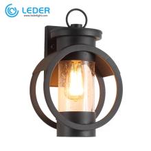Abajur LED preto para exterior