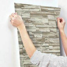 China Wholesale 3D Wall Sticker Wholesale Home Decoration Color Wallpaper