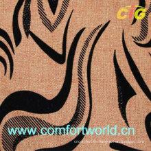 Tela de sofá flocado