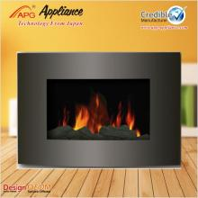Wall Mounted Fake Flame Fireplace