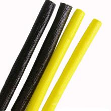 Luva revestida da fibra de vidro do silicone de alta tensão da isolação