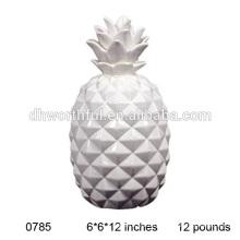 Weiße keramische Ananas Großhandel