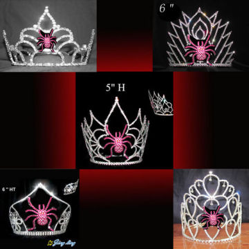 Spider Halloween Pageant Crown en venta
