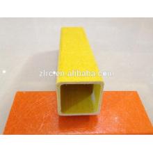 Tubo cuadrado de pultrusión de fibra de vidrio