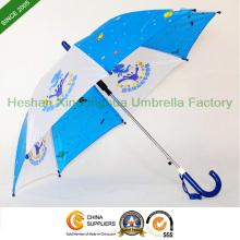 17 pouces personnalisés Logo dessin animé Kid parapluies pour Chilidren (KID-0017Z)