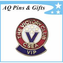 Insigne en souvenir en métal avec badge en émail dur (badge-042)