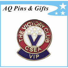 Metal Souvenir Badge with Hard Enamel Badge (badge-042)