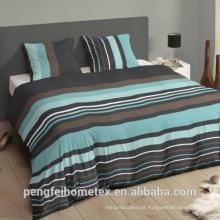 Tecido de impressão 100% poliéster para conjuntos de cama e outros têxteis domésticos