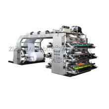 6 cores de alta velocidade Flexo máquina de impressão (CE)