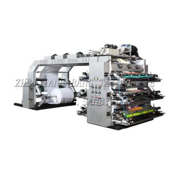 6 Colors High Speed Flexo Printing Machine (CE)