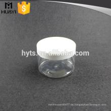 Haustierkosmetik-Haustierglas des leeren Haustieres mit pp. Plastikkappe