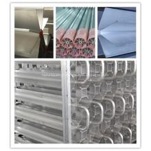 Tubes à ailettes extrudées en aluminium pour vaporisateur cryogénique