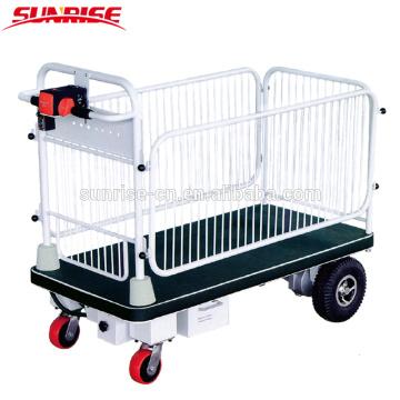 Kapazitäts-Draht-Zaun-Plattform-Wagen der Kapazitäts-400kg für die Materialhandhabung