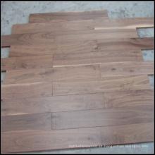 Revestimento de madeira de nogueira americano sólido selecionado