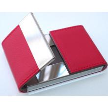 Titular de cartão de visita de alumínio colorido Mini nome, Titular de cartão de visita