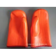 Флуоресцентные рукавицы из ПВХ с подкладкой из губчатой композитной ткани
