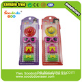 3D Samlings Pencil suddgummin Novelty anpassade pussel suddgummi