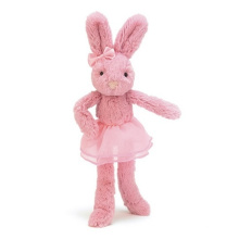 ICTI Audited Factory ballet rabbit with tutu
