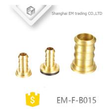 Encaixe de tubulação EM-F-B015 Brass pagota cabeça mamilo