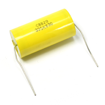 400V condensador de la película de Cbb20 Oval