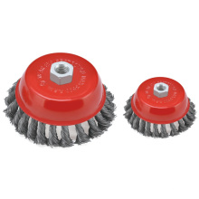 65mm Crimped Wire Cup Brush with M10 Nut