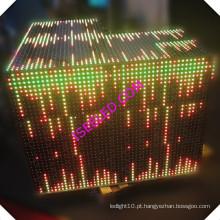 Luz ativada música da parede do diodo emissor de luz do painel do RGB