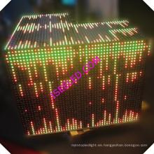 Panel de pared LED RGB activado por la música
