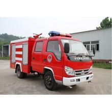 Caminhão de tanque de água do fogo Forland Rhd cabine dupla 3000liters