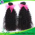 2016 Fashion Natural Brazilian Kinky Curly Remy Virgin Human Hair Extension
