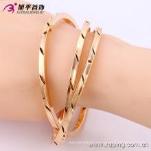 51436-Xuping Jewelry Fashion 3 unids / set Brazaletes chapados en oro de múltiples capas