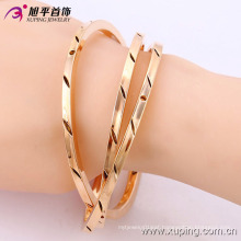 51436-Xuping Jewelry Fashion 3 pcs/Set Multi layer Gold Plated Bangles