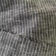 Rayas YD de lino y algodón