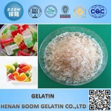Gelatina natural não aromatizada