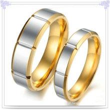 Jóias de aço inoxidável casal moda anéis (SR528)