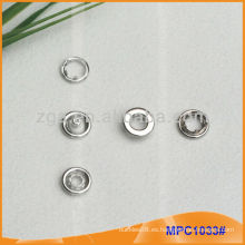 Prong Snap Button / Pinza con tapa de anillo de moda MPC1033