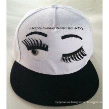 Sombrero de la moda de la ciudad del casquillo de Hip Gorros Bordados