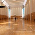 Sólido de madeira antiderrapante do revestimento do bordo de basquetebol do esporte interno de 22mm