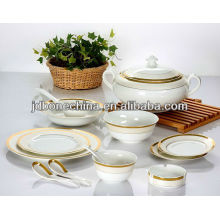 USA export A grade British Spanish Chinese Portuguese royal imperial dynasty fine bone china dinning kitchenware set
