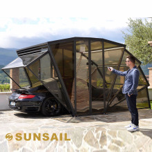 Sunsail-box Solar Energy Folding Car Garage