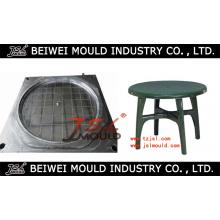 Placa de inyección de plástico popular y moldes de mesa