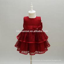 Neugeborenes Kleinkind Mädchen Prinzessin Taufe Kleider Baby Mädchen 1 Jahr Geburtstag Party Kleidung Blume Taufkleider