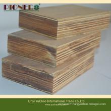 Revêtement de plancher de carottage en bois dur de placage de 28 mm