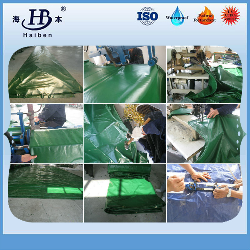 Waterproof 1000D 180z pvc tarp for truck cover